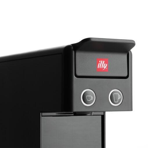 Kavni aparat illy Y3.3 Espresso&Coffee, funkcijski gumbi