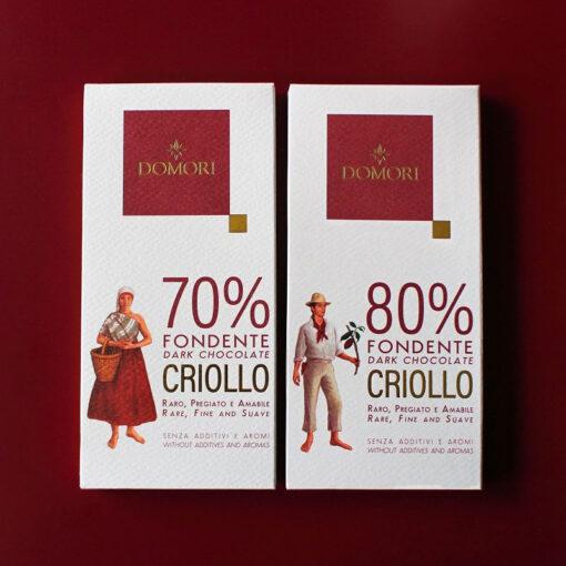 Domori Criollo Blend, 80 %