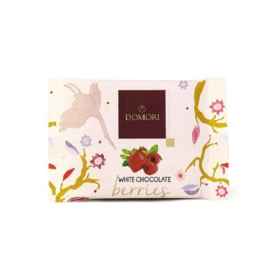 Domori White Chocolate Berries