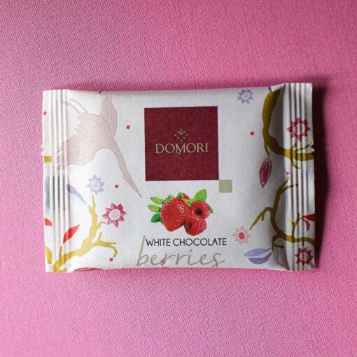 Domori White Chocolate Berries