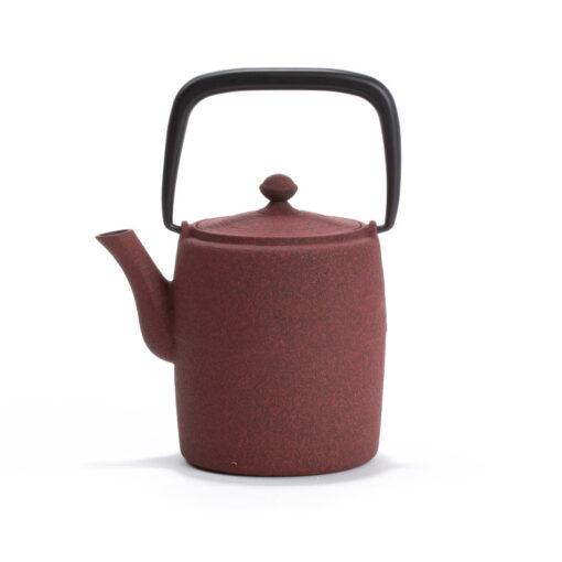 Japonski čajnik Wabi, rdeč
