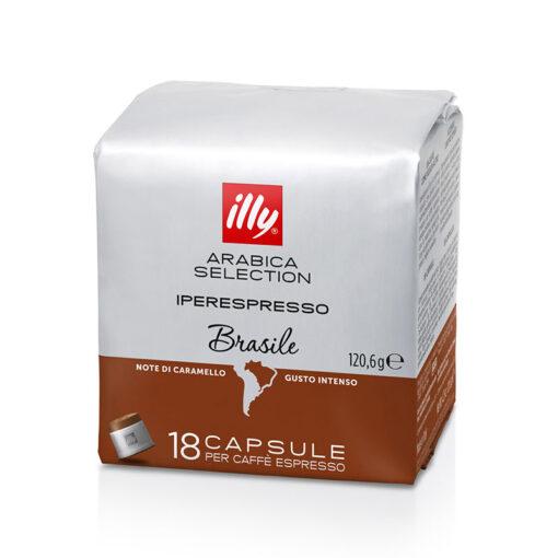 Kava v kapsulah IE Arabica Selection Brasile