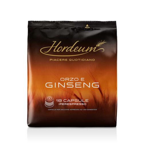 Hordeum ječmenov napitek v kapsulah IE, Orzo in Ginseng