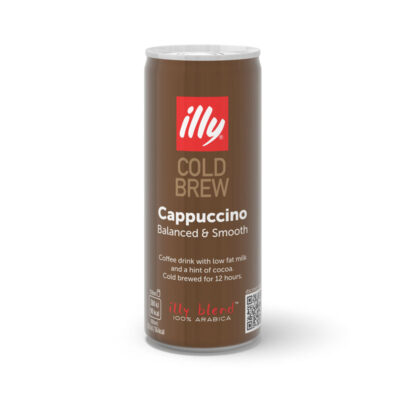 illy Cold Brew Cappuccino, 250 ml